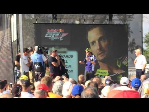 Valentino Rossi, on Colin Edwards farewell