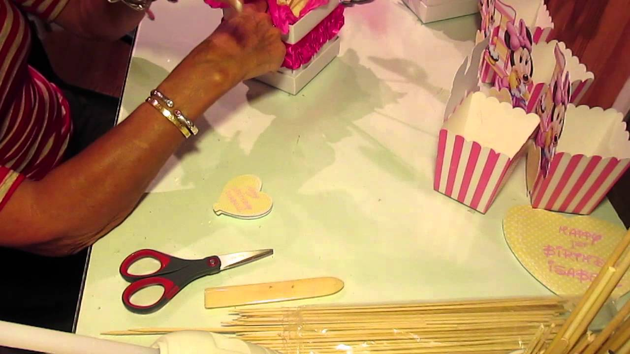 & Baby Minnie Mouse Party theme - YouTube
