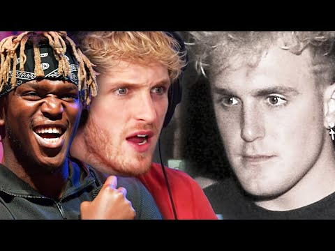 Logan Paul & KSI React To Jake Paul Police Report