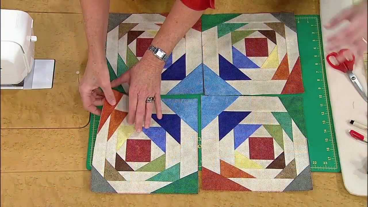 How to Make the Pineapple Quilt with Pattern - YouTube : pineapple quilt block pattern - Adamdwight.com