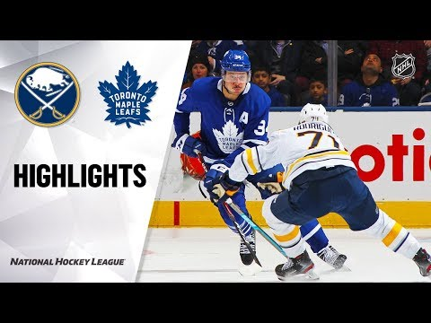 NHL Highlights   Sabres @ Maple Leafs 12/17/19