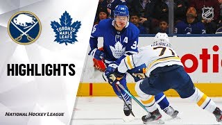 NHL Highlights | Sabres @ Maple Leafs 12/17/19