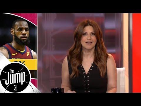 Rachel Nichols: LeBron James has made some memorable 0-2 comebacks | The Jump | ESPN