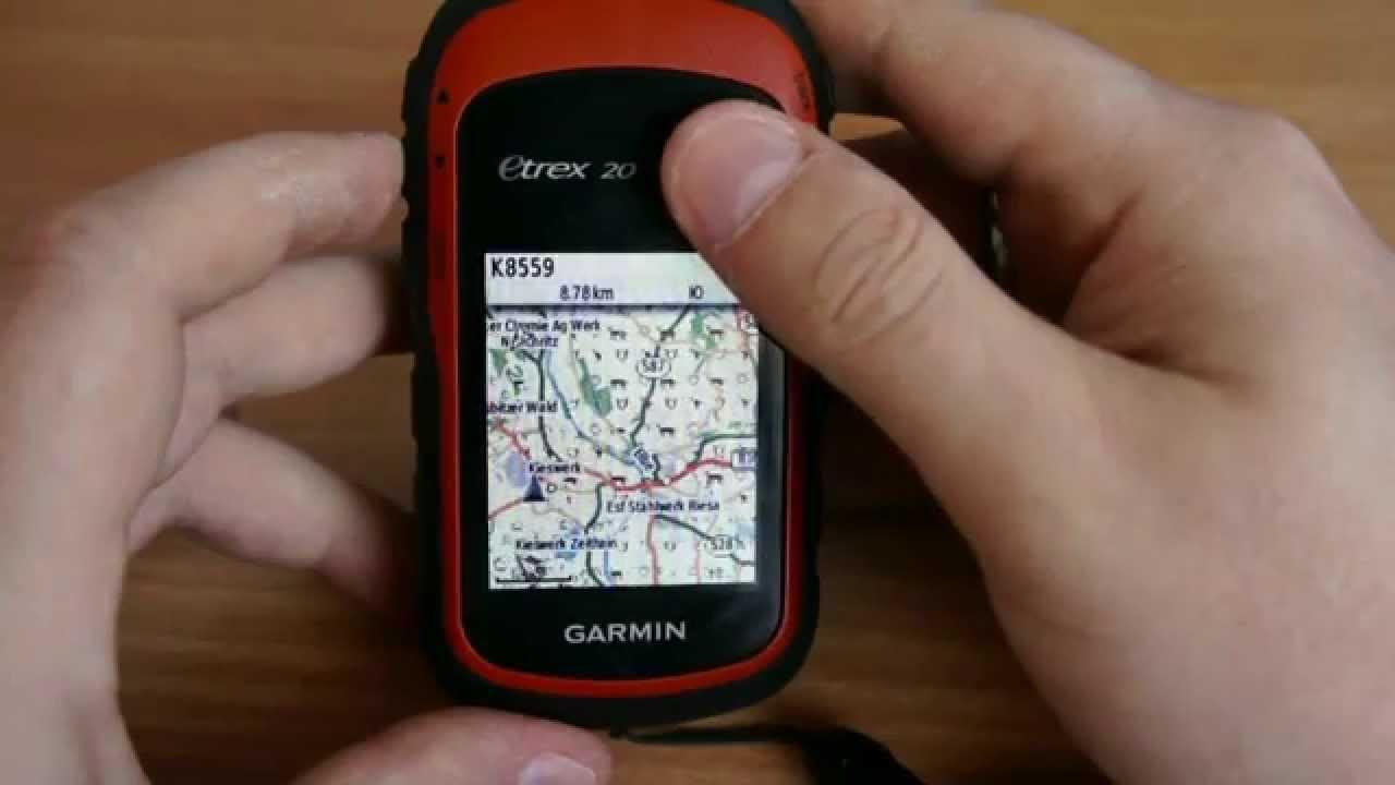 Garmin eTrex 30x - обзор туристического GPS навигатора - YouTube