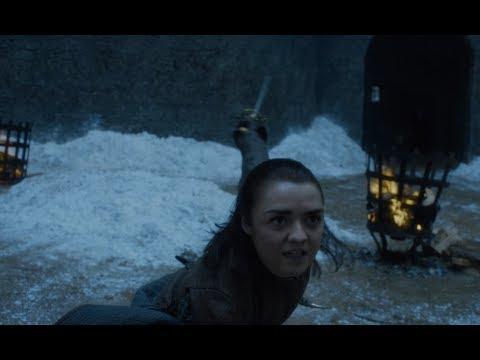 Игра престолов 7 сезон - Поединок Арьи Старк и Бриены Тарт