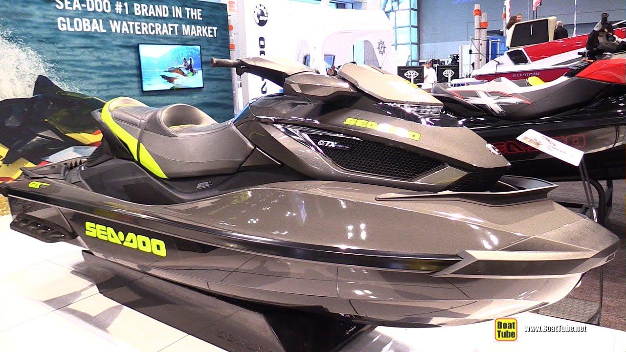 2015 sea doo gtx limited is 260 jet ski walkaround 2015 new york boat show youtube. Black Bedroom Furniture Sets. Home Design Ideas