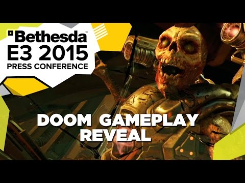 DOOM First Gameplay Reveal - E3 2015 Bethesda Press Conference poster