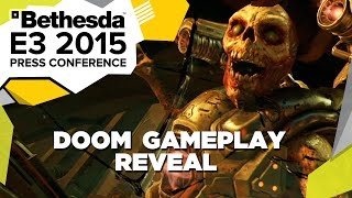 DOOM First Gameplay Reveal - E3 2015 Bethesda Press Conference