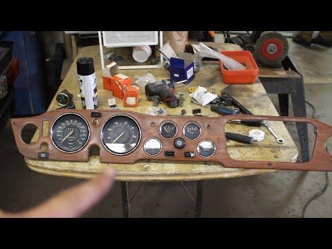 1973 Triumph TR6 Restoration - Part 26 - Dash Wiring