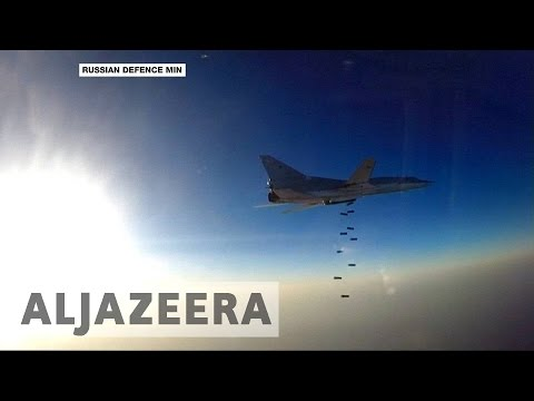 Russia bombs Syria rebels from Iran base for first time