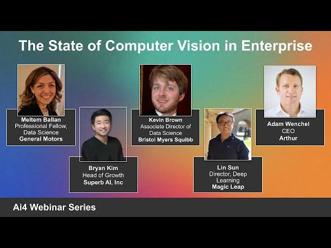 The State of Computer Vision in Enterprise