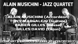 ALAIN MUSICHINI QUARTET – (ITINERAIRE BIS) – 29/10/17