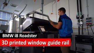 3D printed window guide rail BMW i8 Roadster