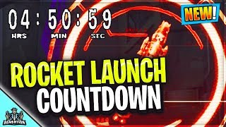 *NEW* FORTNITE ROCKET LAUNCH HAPPENING RIGHT NOW! (FORTNITE BATTLE ROYALE )