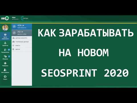 Сколько можно заработать на SEOSPTINT 2020 без вложений (НОВЫЙ МЕТОД)