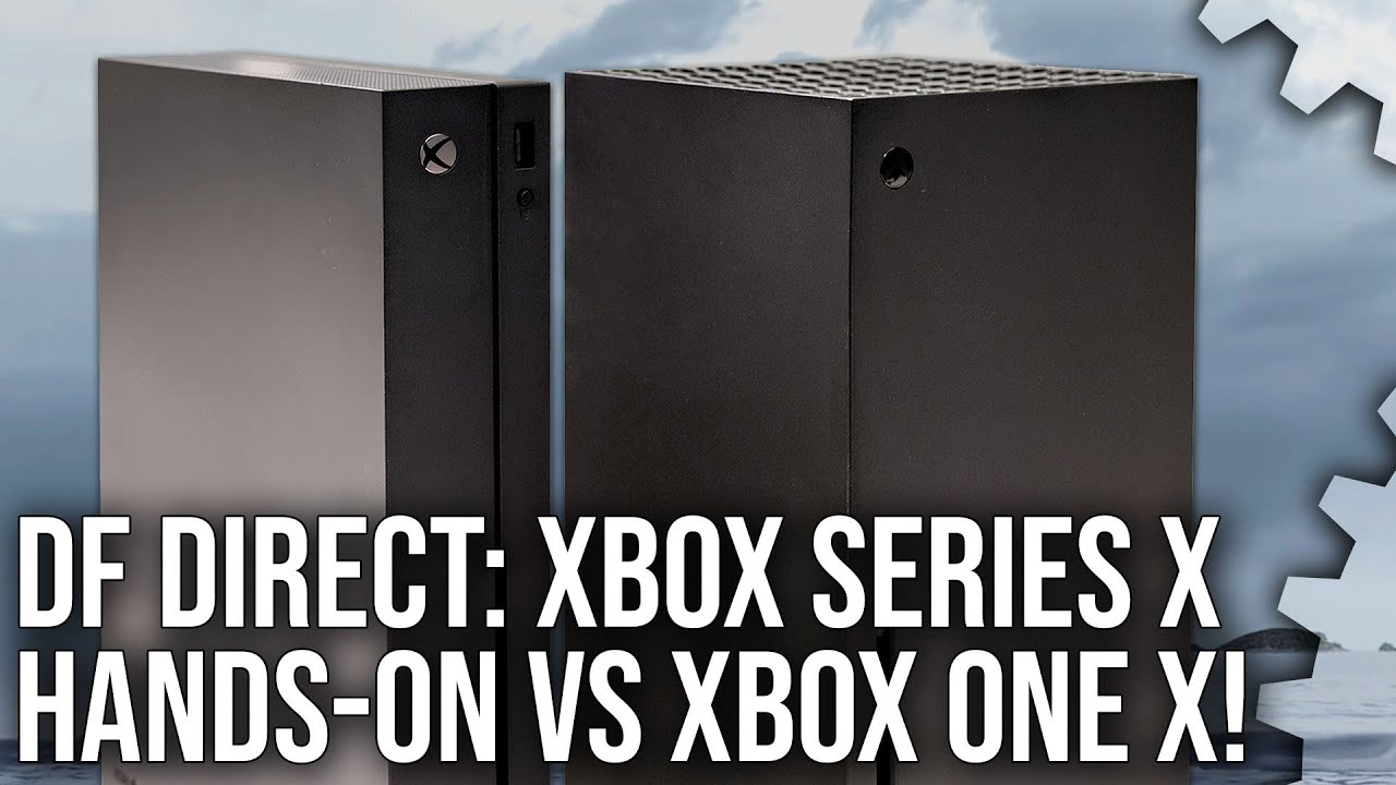 Df Direct Hands On With Xbox Series X Impressions Xbox One X Size Comparisons Youtube