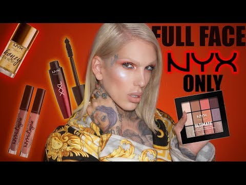 Thumbnail: FULL FACE USING ONLY NYX PRODUCTS! | Jeffree Star