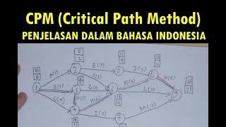 Cara Mengerjakan Soal Tentang Cpm Critical Path Method