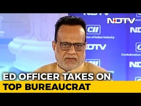Enforcement Directorate Joint Director Attacks Revenue Secretary Adhia
