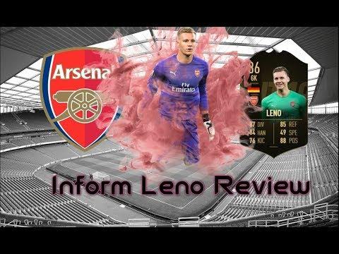 FIFA 19 INFORM (IF) BERND LENO PLAYER REVIEW   BEST FIFA 19 GOALKEEPER? FIFA 19 ULTIMATE TEAM