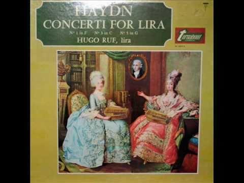 Haydn / Hugo Ruf, 1966: Lira Concerto No. 1 in C major, Hob. VIIh, No. 1 - Complete