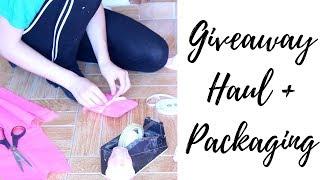 Giveaway Haul + Packaging l Reborn Life