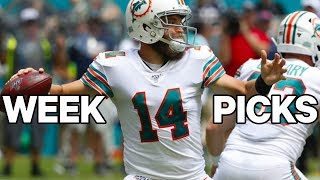 NFL Week 14 Picks, Best Bets And Survivor Pool Selections | Against The Spread