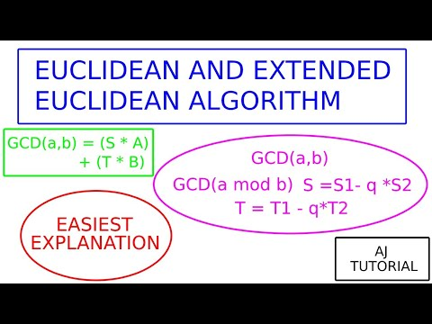 Discrete Math 4.3.3 The Euclidean Algorithm from YouTube · Duration:  7 minutes 14 seconds