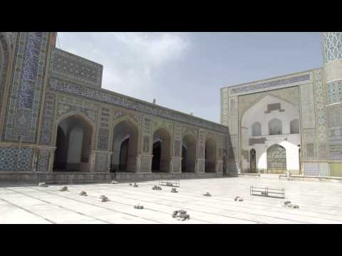 Great Friday Mosque (Jame Masjid) in Herat, Afghanistan