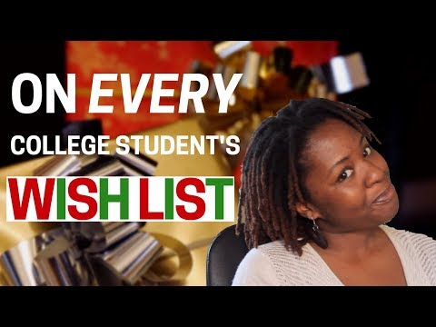 100 Holiday Gift Ideas for College Students 2017