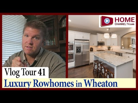 Home Tour Vlog 41: Luxury Rowhomes in Wheaton, IL - Courthouse Square