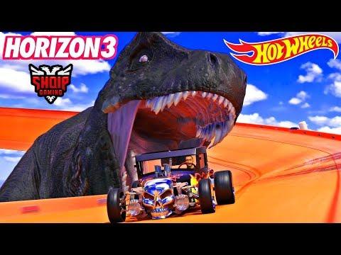 Ishulli i Ri për Kerre (Me Dinozaura) !! - Forza Horizon 3 SHQIP   SHQIPGaming