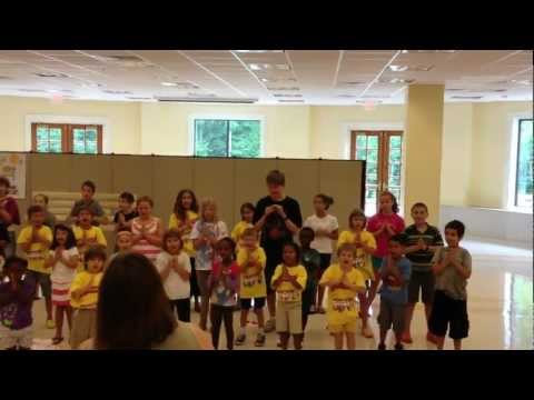 Vatican Express Vacation Bible School Songs Performance 4