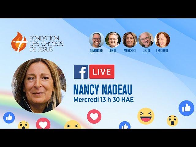 Facebook Live quotidien 07/10/2020 - Qu'est-ce que Jésus vous dit à vous