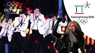 EXO and CL perform live at the Closing Ceremony | Winter Olympics 2018 | PyeongChang
