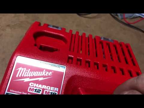 Milwaukee M18 & M12 charger conversion 110v to 240v UK