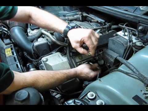 Spark Plug Service On Range Rover Full Size
