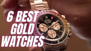 6 Best Gold Watches For Men 2021