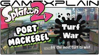 Splatoon 2 - Port Mackerel Turf War Gameplay (Nintendo Switch)