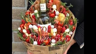 Съедобные букеты от магазина Цветы для души