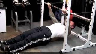 Inverted Row by Jim Stoppani
