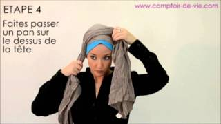 comment mettre le foulard