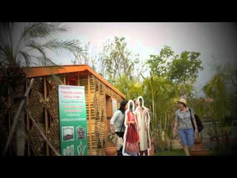 Pakistan Garden at Royal Flora Ratchaphruek 2011 Chiang Mai, Thailand.m4v