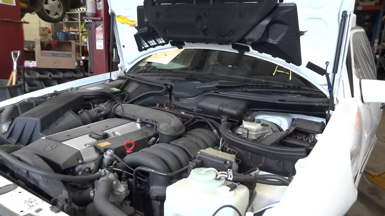 1997 mercedes benz e320 3 2l engine with 71 834 miles for Mercedes benz e320 engine