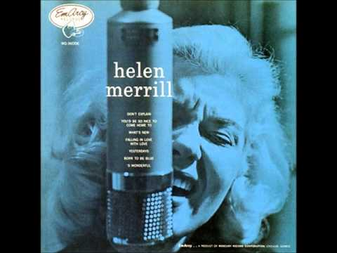 [MUSIC] Helen Merrill - What's New Mp3