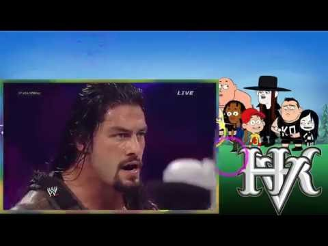 John Cena vs Kane, Randy Orton and Roman...
