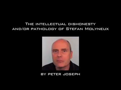 "Peter Joseph on Stefan Molyneux: ""The Art of Nonsense"" 
