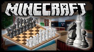 Как сделать шахматную доску в Minecraft (БЕЗ МОДОВ)
