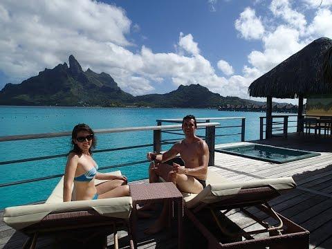 Room 103 tour - Honeymoon at St Regis Bora Bora Premier Overwater Villa with Jacuzzi - May 2014