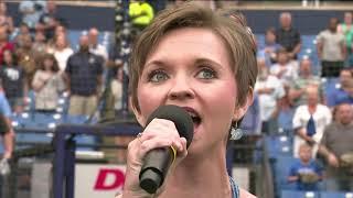 Pamela K. Ward National Anthem Tampa Bay Rays